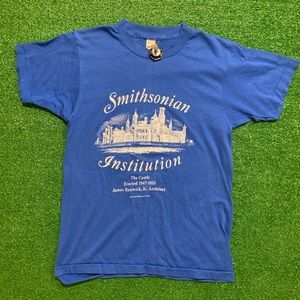 Vintage 80's Smithsonian Institution T Shirt